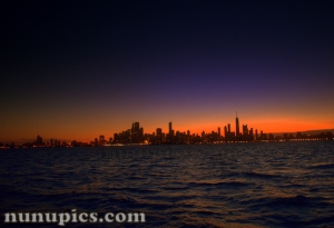 Chicago Sunset July 2011