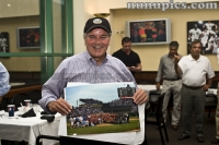 Mayor Daley with the Cubs, Hawks and Sox team pic of the 2010 