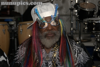 George Clinton  Backstage Jazz Fest New Orleans 2008