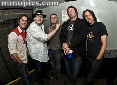 Backstage withBlues Travlers Chicago 2010