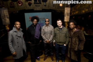Backstage with The Roots Nov 2010 Chicago Il