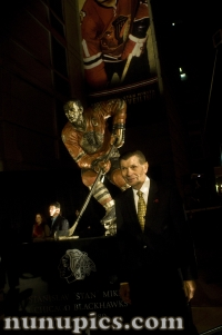 Stan Makita gets his statue unveiling October 22 2011