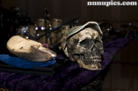 Dr John Skull On Piano 2010 Evanston