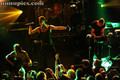 Janes Addiction encore with Jane Says September 25 2011 at The Metro Chicago Il night 2