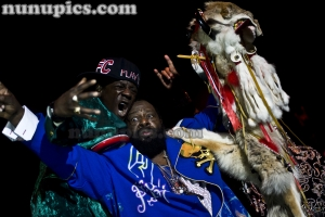 George Clinton and Flavor Flav Funkfest March 1as Vegas9 2011 Planet Hollywood