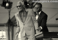 Ray Charles New Orleans Jazz Fest 1998