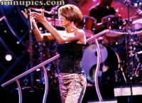 Whitney Houston Arie Crown 1999 Chicago Il.