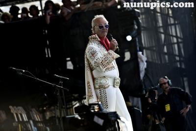 Bill Murray Crossroads 2010 as Elvis