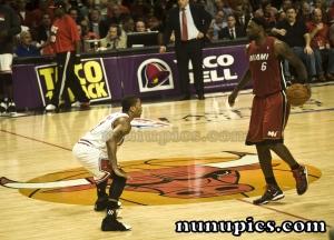 Derrick Rose Vs lebron James Game 5 eastern conference finals May 26 2011