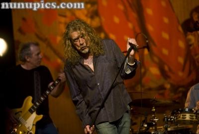 Robert Plant at Auditorium Theater April 9 2011 Chicago Il