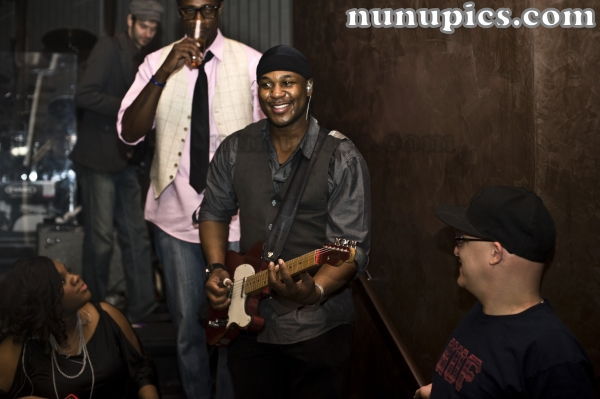 Backstage with Robert Randolph and the Family Band Cosmopolitan Las Vegas Ne1vada March 20 2011