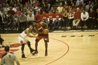 Derrick Rose Takes On Lebron James Game 2 Eastern Conference Finals May 18 2011