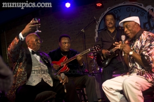 BB King, George Benson Jimmy Johnson and Buddy Guy March 22 2012 Lege