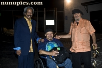 New Orleans Piano players Allan Toussaint, Art Neville, and Dr. John at Bonnaroo 2011