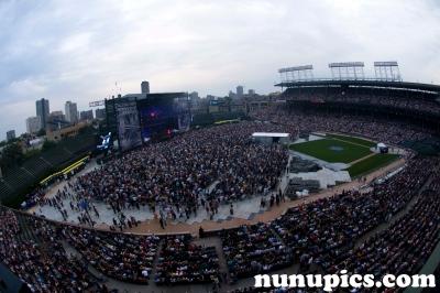 Wrigley Field July Concert of Billy Joel & Elton John 2009