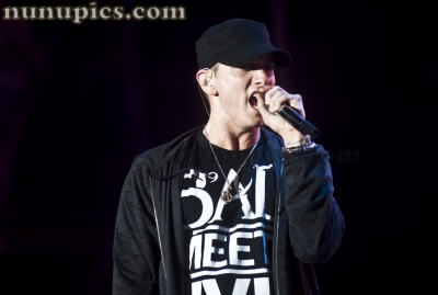 Eminem takes on Bonnaroo 2011