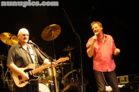 Kenny Loggins and Dave Mason perform at Ravinia in 2009