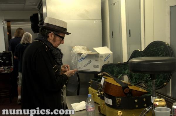 Elvis Costello Backstage House Of Blues Parish Jazz Fest 2009