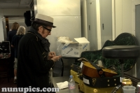Elvis Costello Backstage House Of Blues Parish Jazz Fest 2009