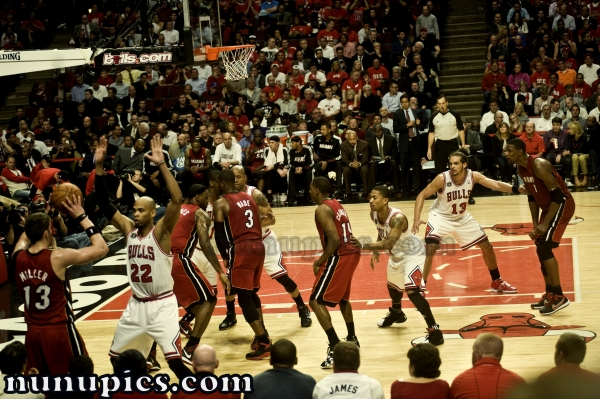 Chicago Bulls Vs Miami Heat May 26 2011 Game 5 Eastern Conference Finals